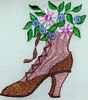 Victorian Shoe Embroidery