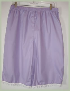 Purple Knickers are worn as Underwear or as Lingerie